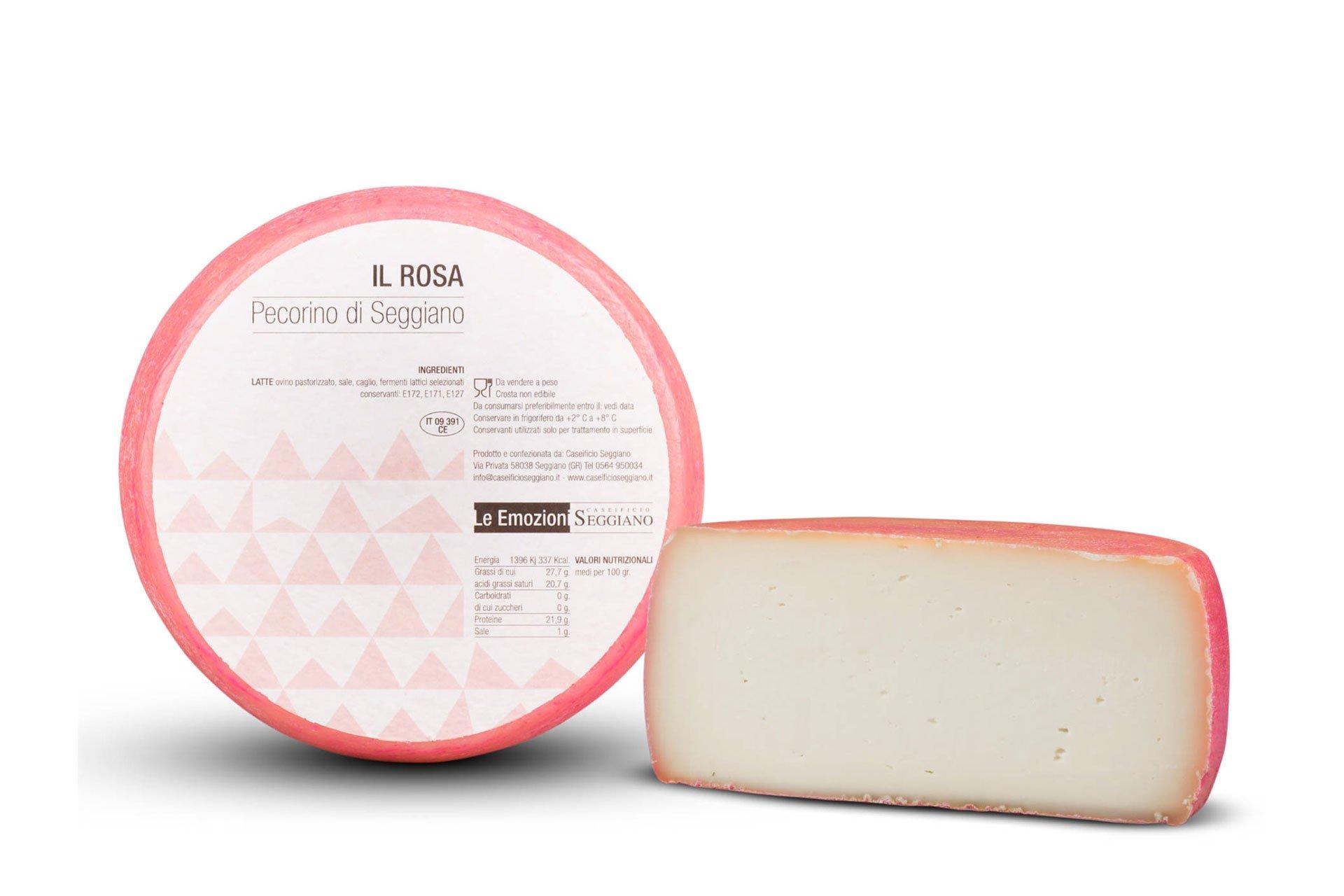formaggio rosa di seggiano - scoppolato